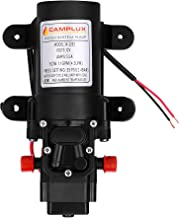 Camplux 12V Water Pump 35PSI DC 1.2GPM 4.3LPM Diaphragm for Caravan RV Marine Fishing Boat