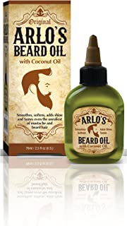 Arlo's Beard Oil with Coconut Oil 2.5 ounce (Pack of 2)