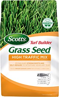 Scotts Turf Builder Grass Seed - High Traffic Mix, 3-Pound (Not Sold in Louisiana)
