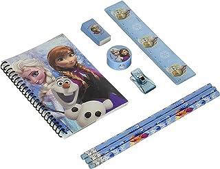 Blue Frozen Princess Anna Elsa & Olaf Stationary Set for Kids