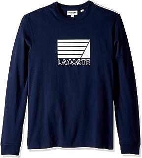 Lacoste Men's L/S Graphic Jersey Souple T-Shirt Regular Fit