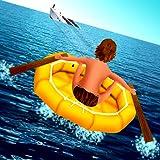 perdus en mer: le radeau de sauvetage rejetterai lutte pour la survie...