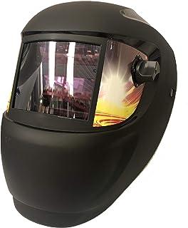 ArcOne Fire MIG - Máscara de soldar de cristal líquido con oscurecimiento automático. Casco equipado