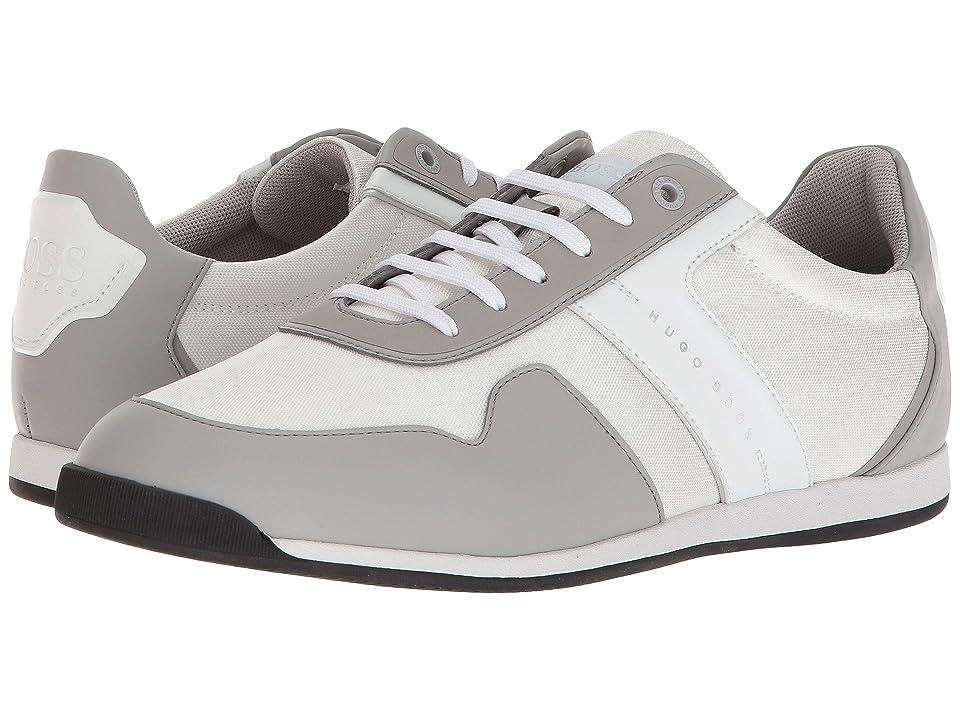 BOSS Hugo Boss Maze Low Profile Sneaker By Boss Green (Light Grey) Men