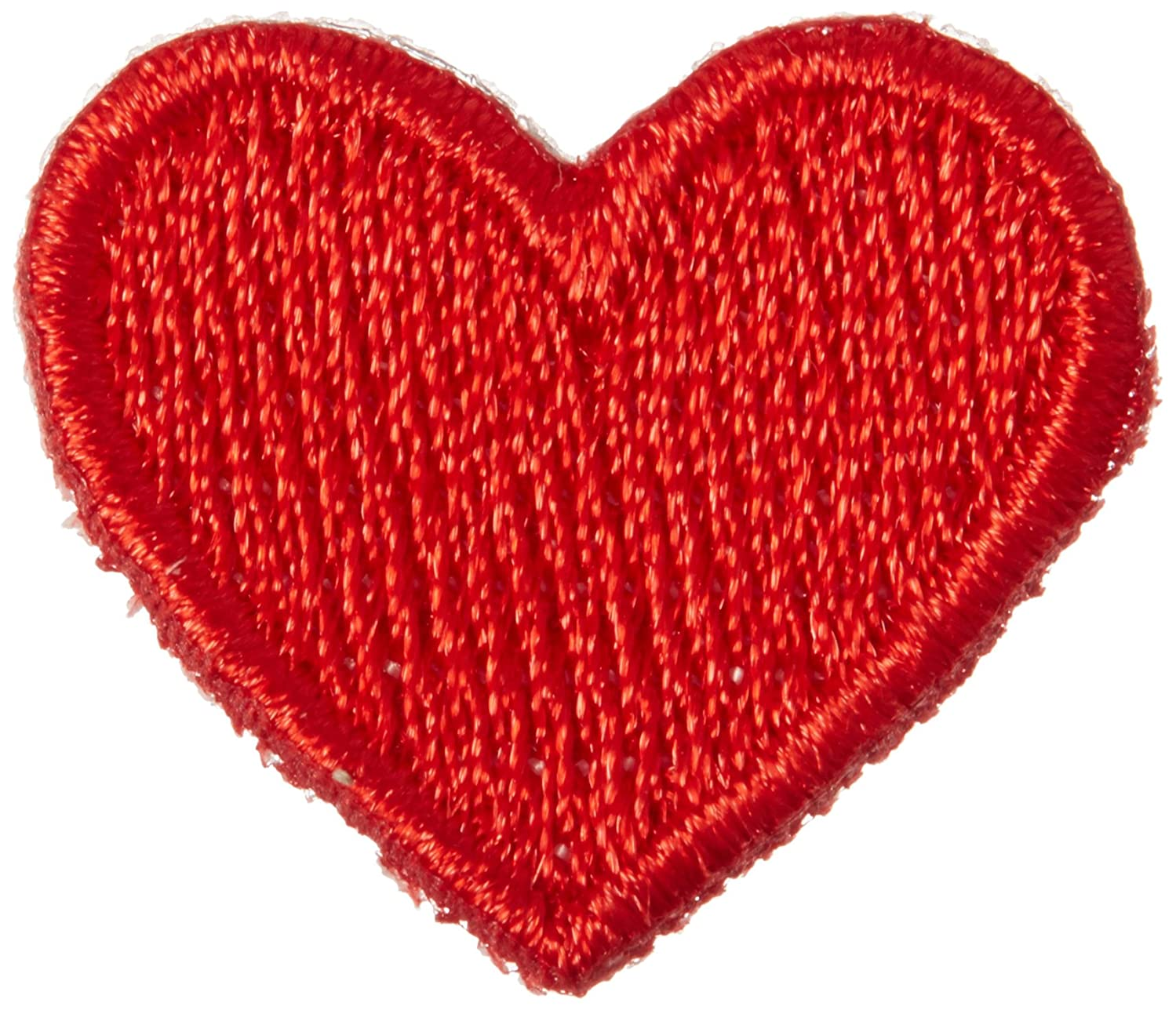 Blumenthal Lansing Iron-On Appliques-Red Hearts 2/Pkg