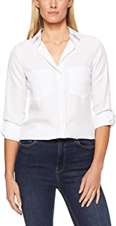 French Connection Women's Essential Botton Through Shirt