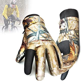 Winter Outdoor Gloves Waterproof Camouflage for Hunting Shooting Fishing Mountain Warehouse, Climbing Camping Hunting Hiki...