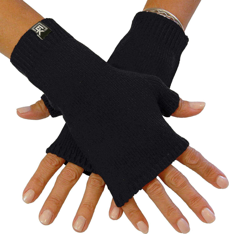 Knit Fingerless Mittens, Superfine Baby Alpaca, Women's
