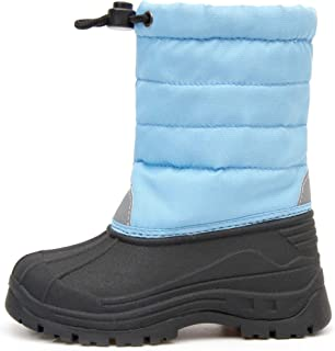 Outee Kids Boys Girls Toddler Winter Outdoor Waterproof Snow Boots