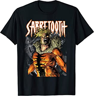 Marvel X-Men Sabretooth Release Inner Beast Graphic T-Shirt