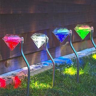 luce bianca calda luce della stringa leggiadramente di 1M 10 LED per la casa del giardino del giardino LEDMOMO Luce solare a strisce del coperchio del coperchio del coperchio del metallo solare