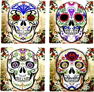 day of the dead ceramic tiles