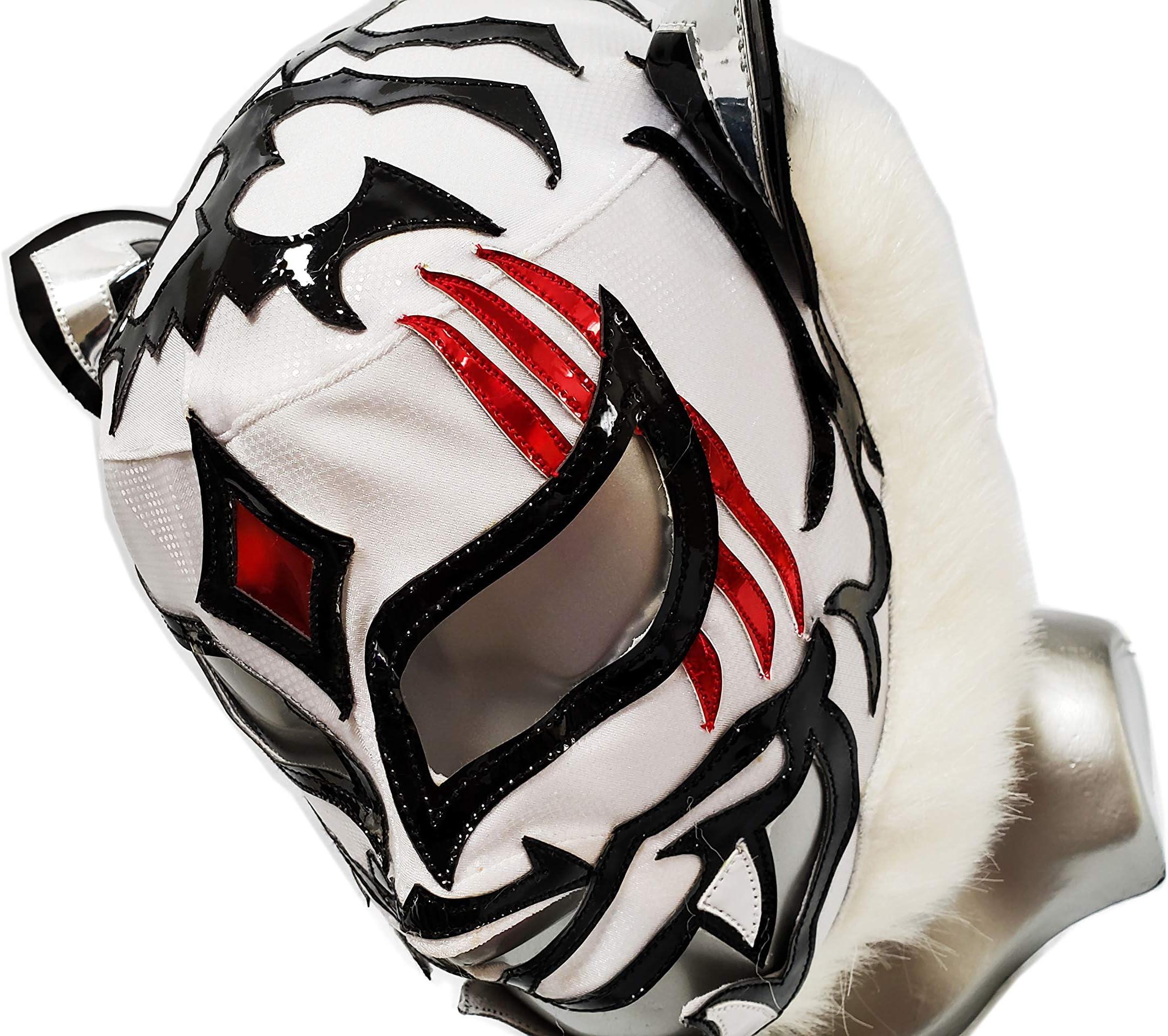 Tiger mask wrestling mask luchador costume wrestler lucha libre mexican mask maske cosplay