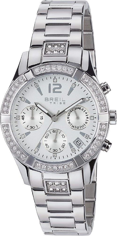 Breil  orologio per donna modello c`est chic con bracciale in acciaio EW0275