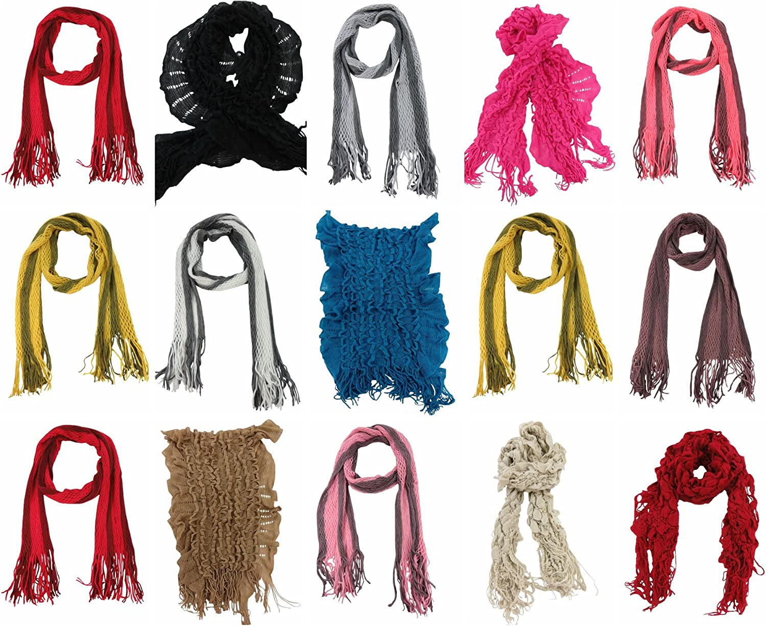12 winter fall fashion scarves neck warmer