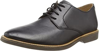 Mens Atticus Lace G Fit Black Leather Smart Lace Up Shoes Size