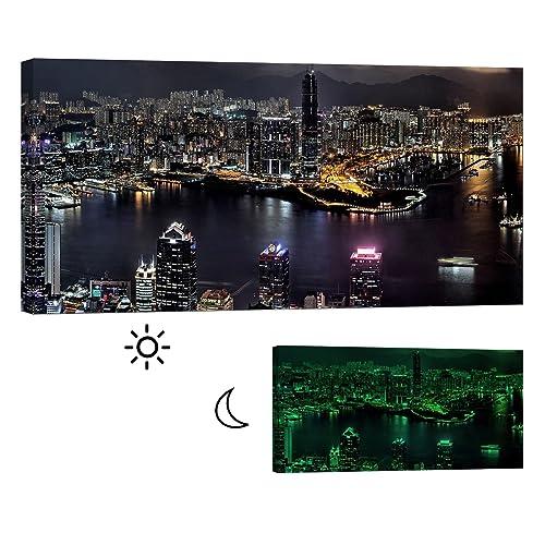 Hong Kong Canvas Wall Art Amazon Com