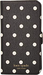 Kate Spade New York Cabana Dot Magnetic Folio for iPhone 11 Black Multi One Size