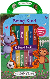 My Little Library: Being Kind (12 Board Books & 3 Downloadable Apps!)