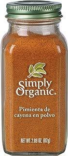 Simply Organic Cayenne Pepper orgánico certificado, 2.89 oz contenedor