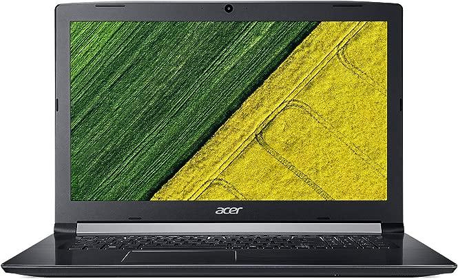 Acer ACA51732 Laptop 17 3 Zoll schwarz  Intel Core i5  GB RAM  500 GB  HD Graphics 400  Windows 10 Pro  Tastatur AZERTY Franz sisch