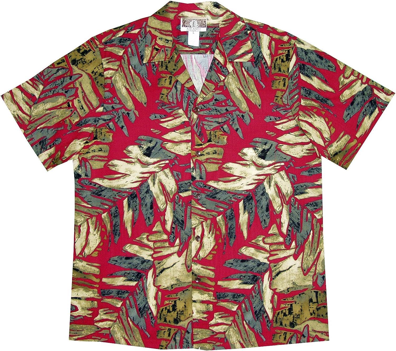 RJC Mens Ice Age Frozen Jungle Peached Cotton Blend Shirt