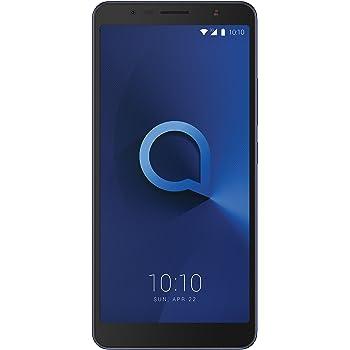 """Alcatel 3C – Smartphone Pantalla de 6"""" HD (3G, cámara de 8MPx, 1GB de RAM, 16GB de ROM), azul: Alcatel: Amazon.es: Electrónica"""