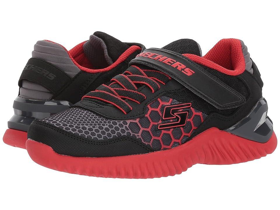 SKECHERS KIDS Ultrapulse (Little Kid/Big Kid) (Black/Grey/Red) Boys Shoes