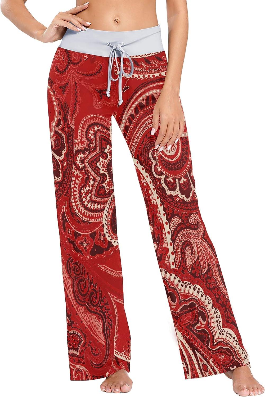 N\C Floral Under blast sales Berries Wreath Women's Daily bargain sale Pajama Drawstring Lounge Pants