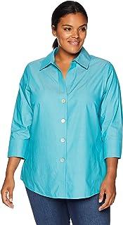 ebb1f946793 Amazon.com  Foxcroft - Blouses   Button-Down Shirts   Tops   Tees ...