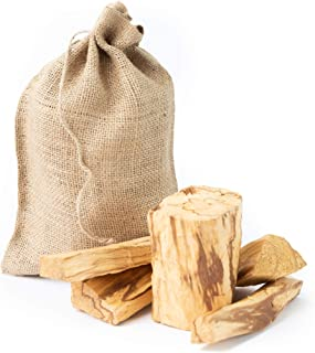 Luna Sundara Palo Santo from Perú Smudging Sticks Large Chunks, High Resin 1 Pound Bag.