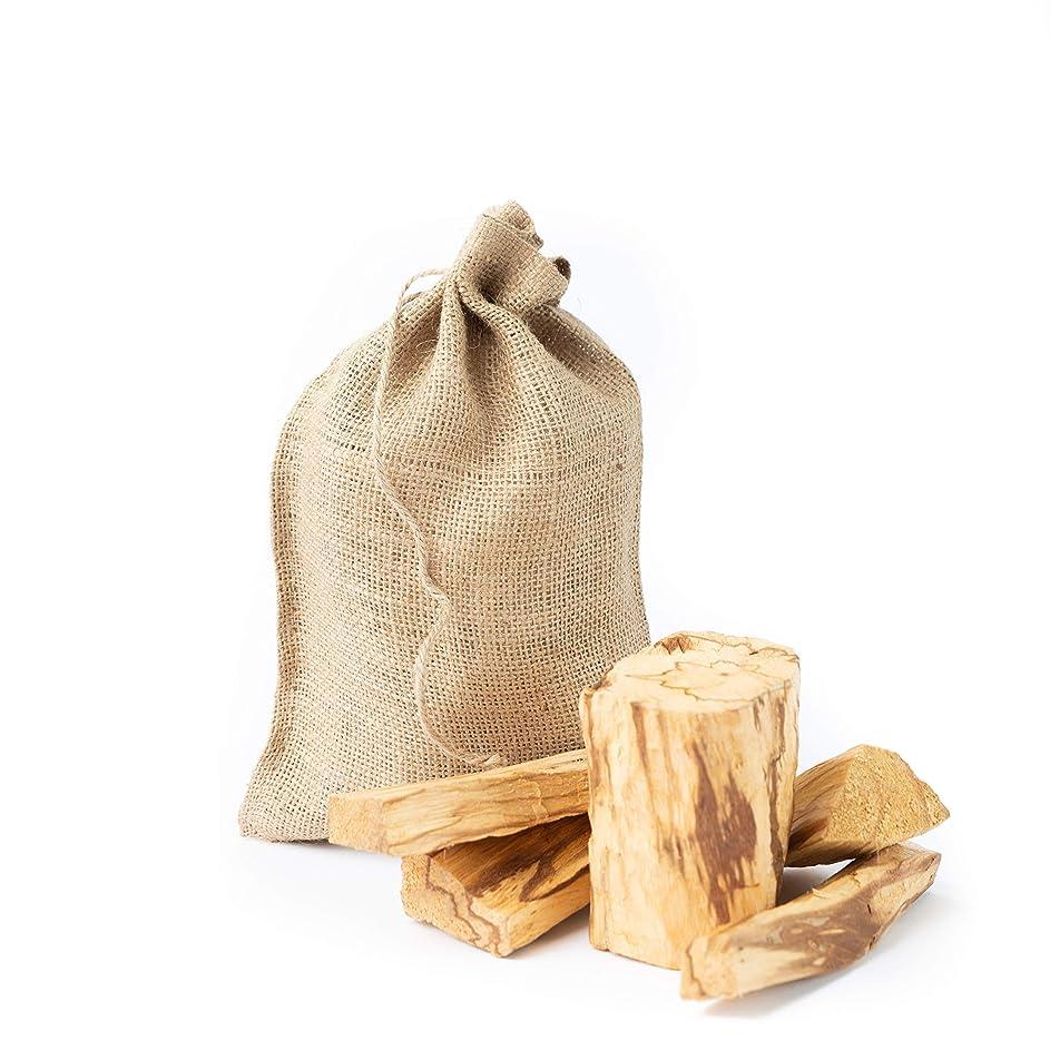 警告控えめなバイアスPalo SantoからPerú Smudging Sticks大きなチャンク、高樹脂1ポンドバッグ。