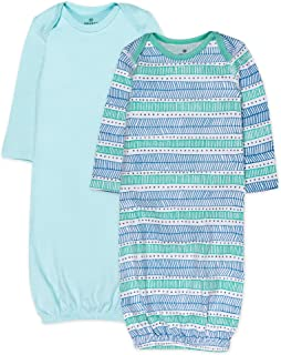 The Honest Company Baby 2-Pack Organic Cotton Sleeper Gowns