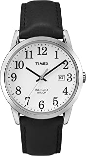 Timex Men's Easy Reader 38mm Leather Strap Watch TW2P75600