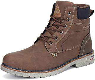 Men's Women's Mid Hiking Boots Outdoor Water Resistant Non Slip Leather Ankle Casual Boot
