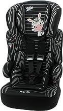 Mycarsit, silla de coche y elevador, grupo 1/2/3(de 9a 36kg), diseño de cebra