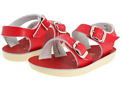 Salt Water Sandal by Hoy Shoes Sun-San Sea Wees (Infant/Toddler) (Red) Kids Shoes