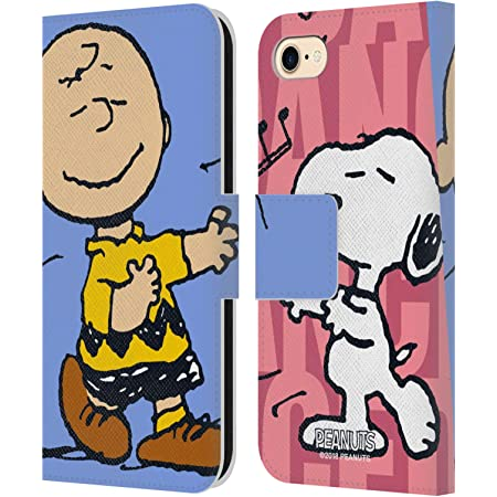 Amazon Com Head Case Designs Officially Licensed Peanuts Snoopy Charlie Halfs And Laughs Leather Book Wallet Case Cover Compatible With Apple Iphone 7 Iphone 8 Iphone Se 2020