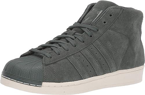 Adidas Originals Hommes's PRO Model FonctionneHommest chaussures, vert Night blanc, 8.5 M US