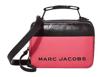 Marc Jacobs The Box 20 Satchel (Fuchsia Multi) Handbags