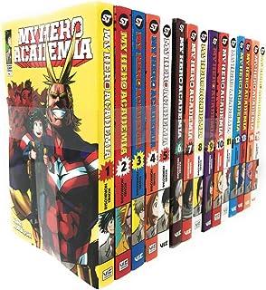 My Hero Academia Series(Vol 1-15) Collection 15 Books Set By Kohei Horikoshi