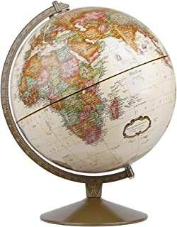 Best Replogle Globes Franklin World Globe, Antique Ocean, 12-Inch Diameter,Over 4,000 Place Names Review