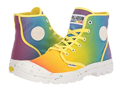 Palladium Pampa Pride (Rainbow Tie-Dye) Lace-up Boots