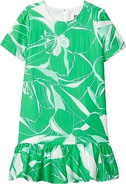 Stencil Floral Print Brynn Dress (Big Kids)
