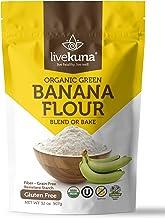 Livekuna Organic Banana Flour | 100% Natural Non-GMO Green Banana Flour | Gluten-Free & Grain-Free All-Purpose Wheat Flour...