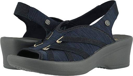 Navy Samba Knit