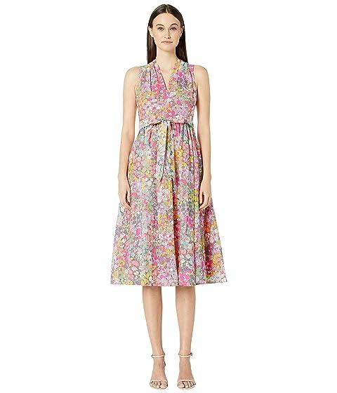 Kate Spade New York Floral Dots Burnout Dress