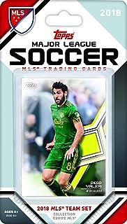 Portland Timbers 2018 Topps MLS Soccer Factory Sealed 7 Card Team Set with Diego Valeri and Sebastián Blanco plus