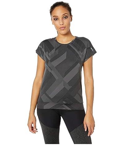 Brooks Array Short Sleeve (Asphalt Eclipse Jacquard) Women