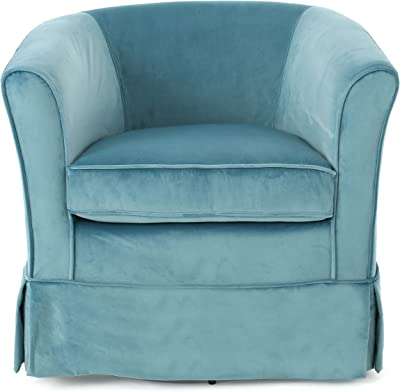 Christopher Knight Home 298870 Cecilia Arm Chair Blue